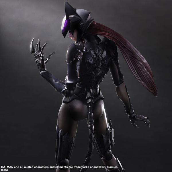 unmasked catwoman action figure square enix