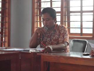 Rapat Reorganisasi Kelembagaan Desa Tambaharjo 2013