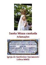 Santa Missa Cantada (2011)
