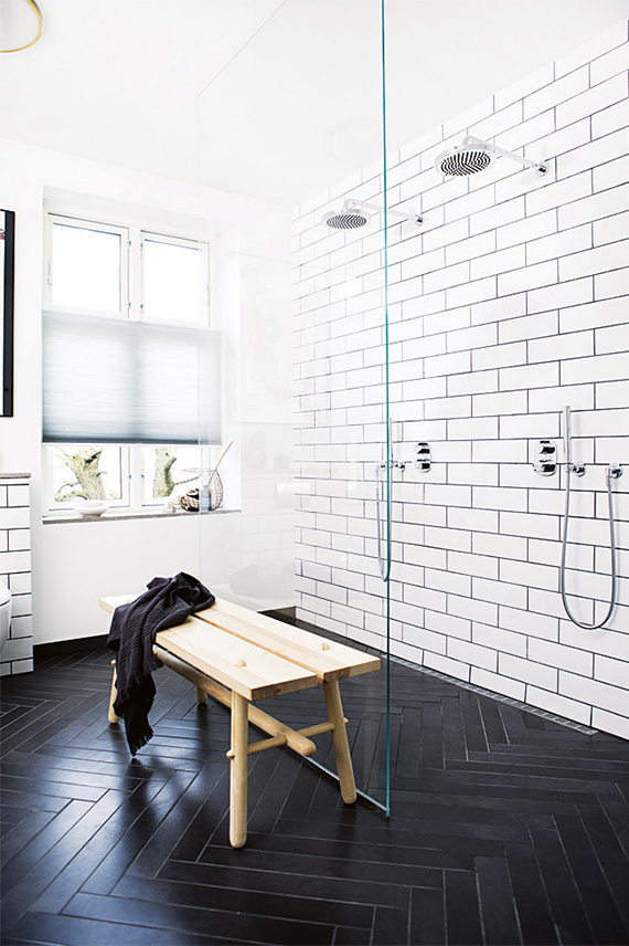 Black and white bathrooms | My Paradissi