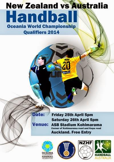 Clasificatorio Oceania al Mundial de Qatar 2015 | Mundo Handball