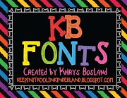 KB Fonts by Khrys
