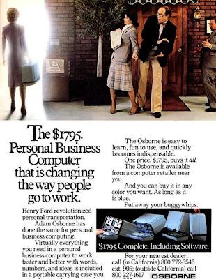 COOL : Osborne 1, Laptop Pertama Dihasilkan Di Dunia Pada 1981.