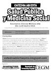 """""""Cátedra Abierta de Salud Pública y Medicina Social"""" en la UBA"""