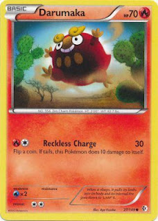 Darumaka Boundaries Crossed Pokemon Card