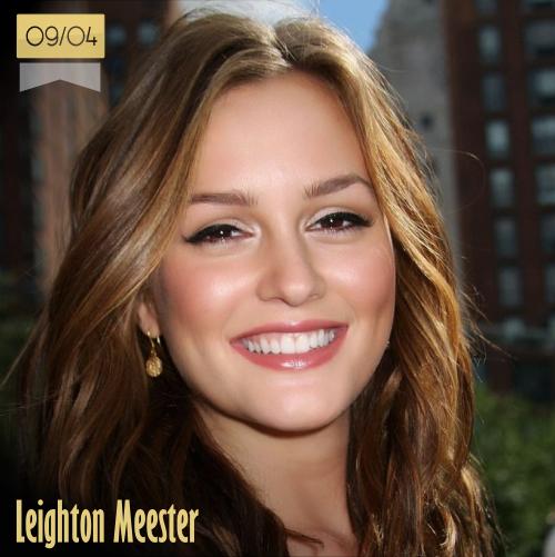 9 de abril | Leighton Meester - @itsmeleighton | Info + vídeos