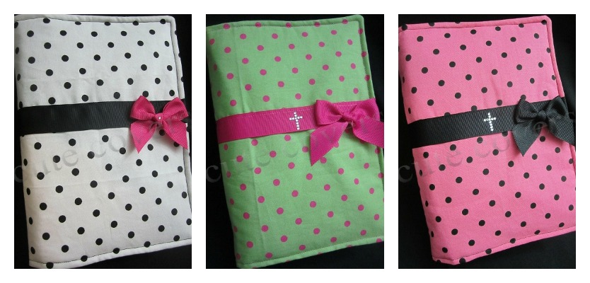cute covers polka dot bible covers ready to ship girly bible covers