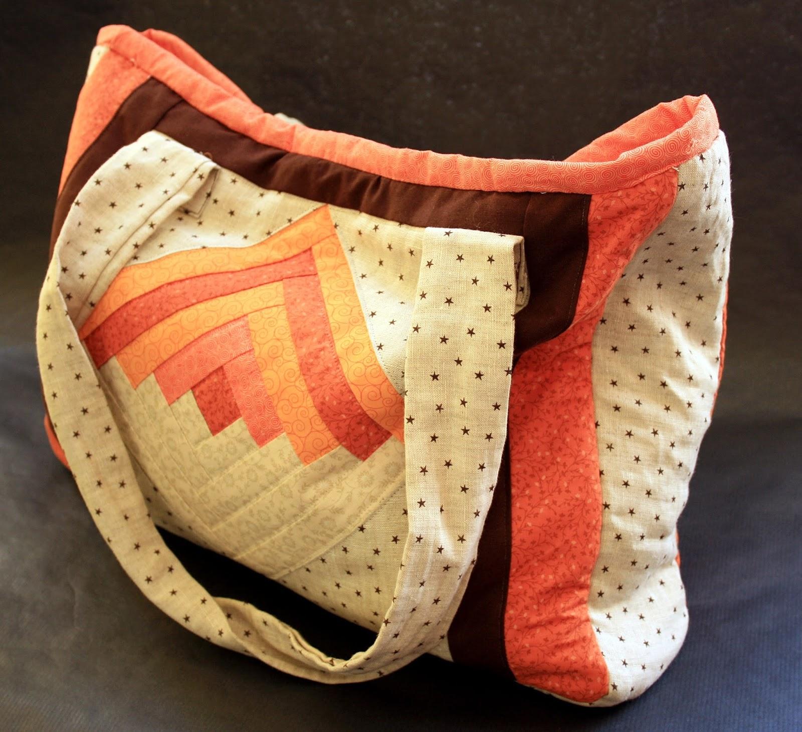 F d el bolso de patchwork de miraquemajo aprender - Manualidades patchwork bolsos ...