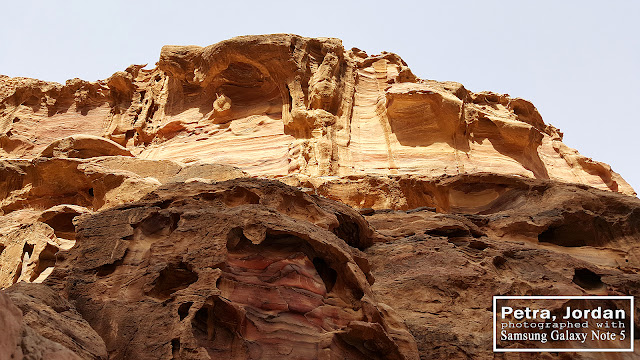 Rock Formations at Petra