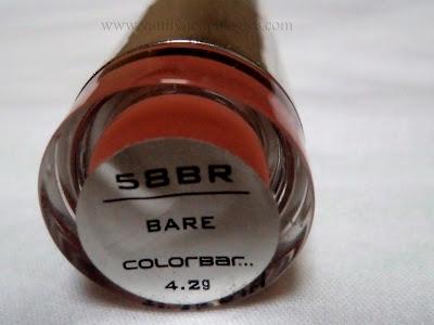 colorbar nude lipstick