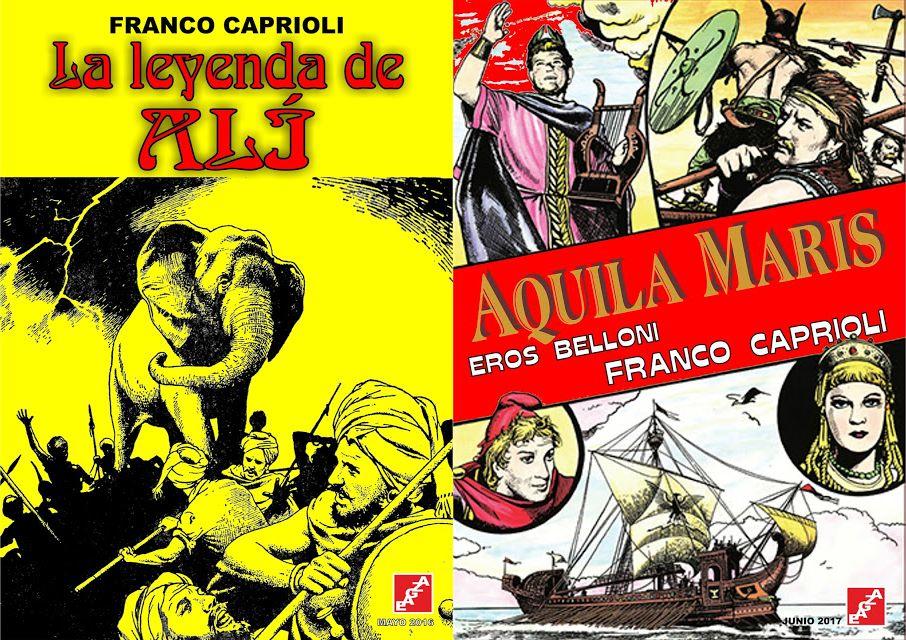 Obras de Franco Caprioli - EAGZA