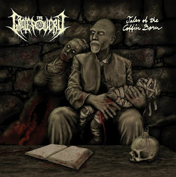 "THE GROTESQUERY ""TALES OF THE COFFIN BORN"" CD"