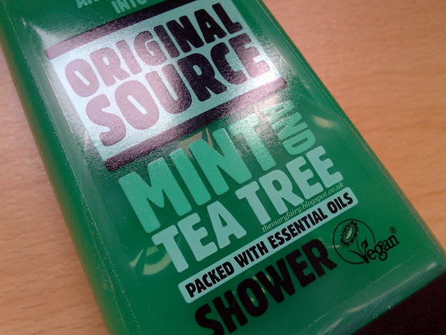 original source mint &amp; tea tree oil shower gel