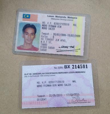 Mohd Ridwan Bin Mohd Saleh Kad Pengenalan 820317-12-5519