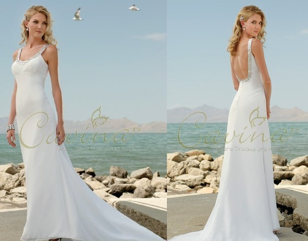 Carina casual Beach Wedding Dresses 2011