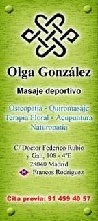 Olga González (Osteopatía)