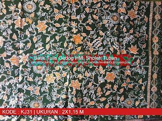 Batik Tulis Gedog HM Sholeh Tuban, Batik HM Sholeh motif Insan Kamil.