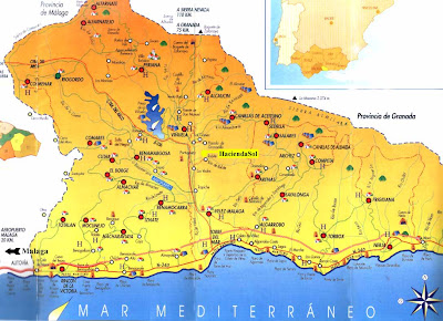 Andalucia Map Picture