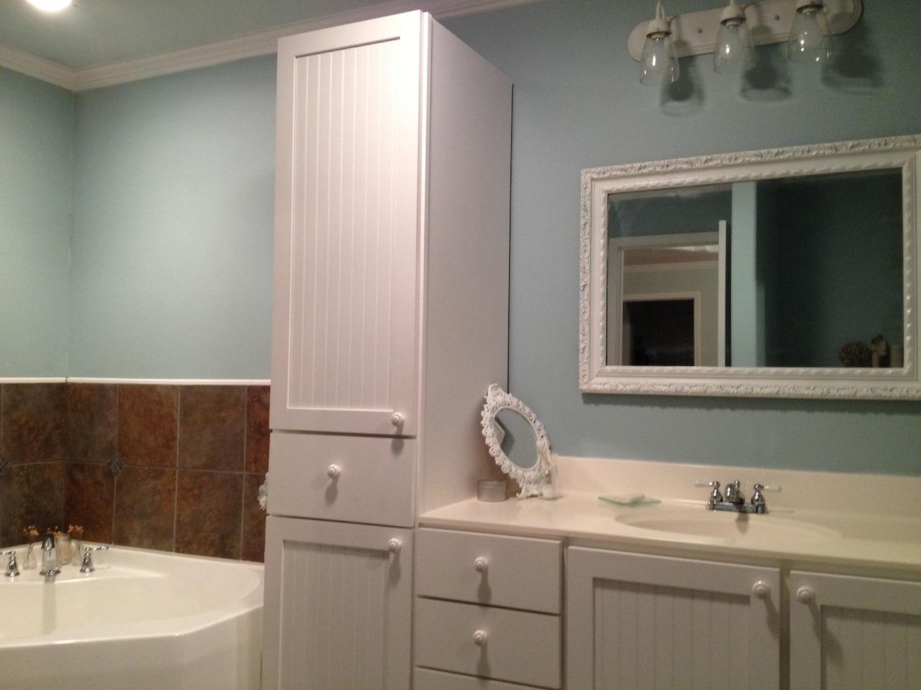 Vanity Mirror With Lights Craigslist : Titus 2 Work in Progress: Master Bath Reveal
