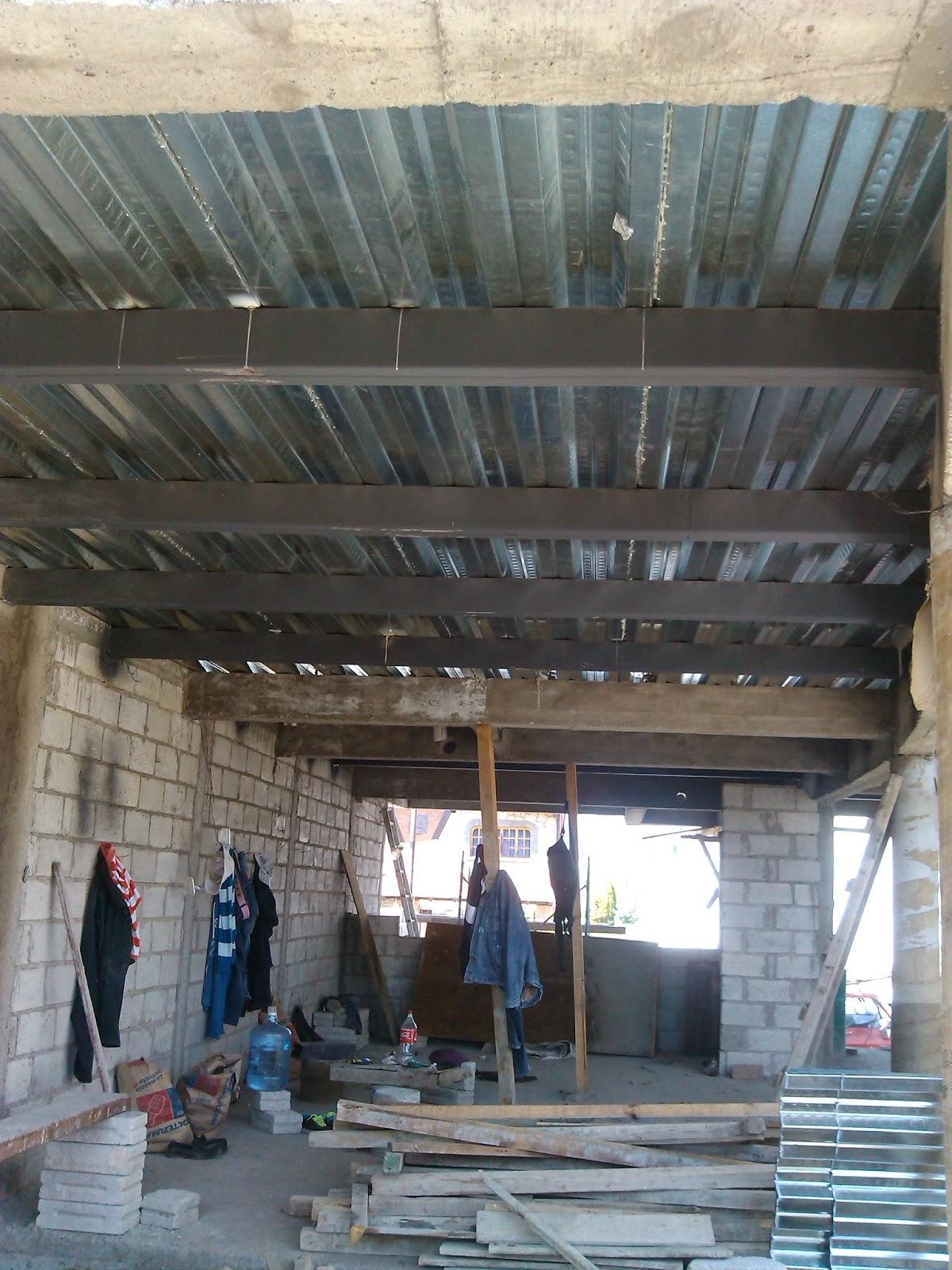 Tauro estructuras metalicas realizacion de losas for Puertas metalicas para casa