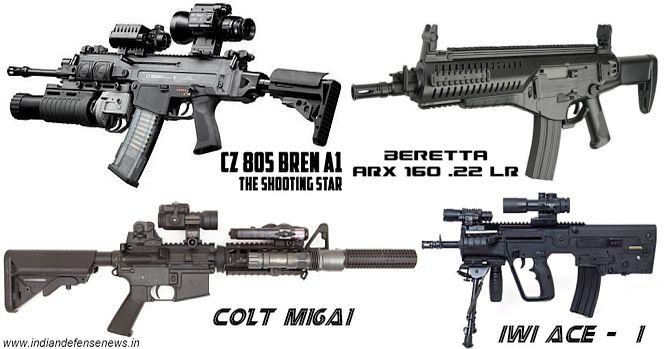 INSAS Excalibur & MCIWS Ghatak Assault Rifles to Replace ...