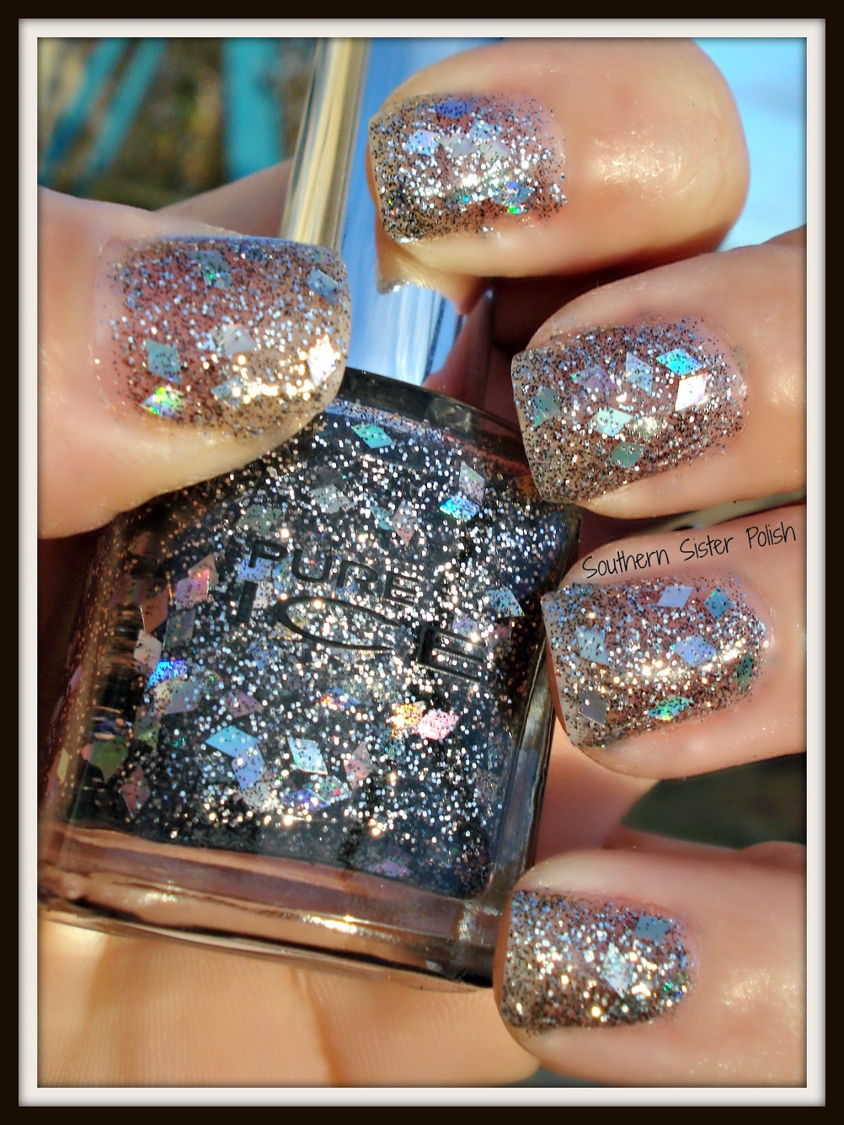 Southern sister polish pure ice diamond couture review saturday december 8 2012 prinsesfo Images