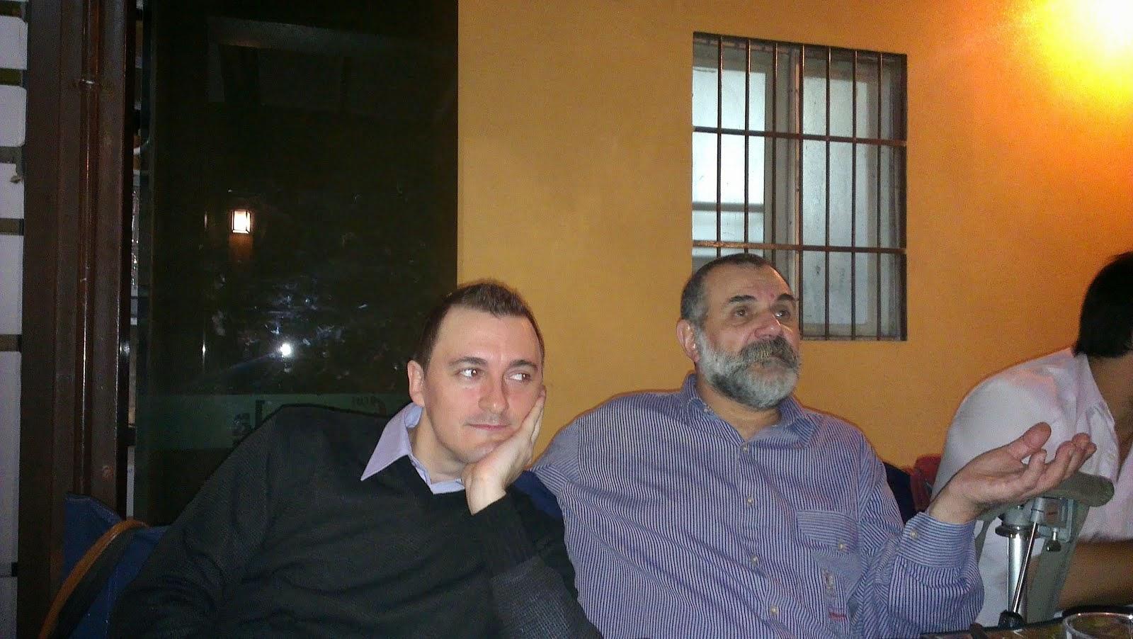 Junto a Duilio Arnaldo Grasso