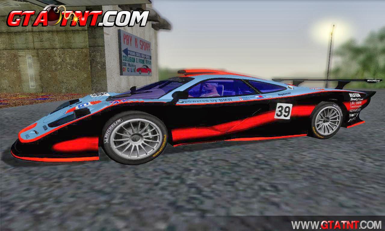 McLaren F1 GTR Longtail para GTA San Andreas
