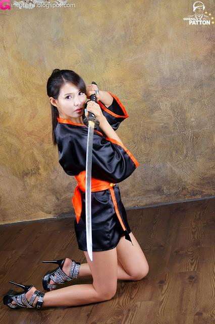 4 Cha Sun Hwa - Samurai Girl-very cute asian girl-girlcute4u.blogspot.com