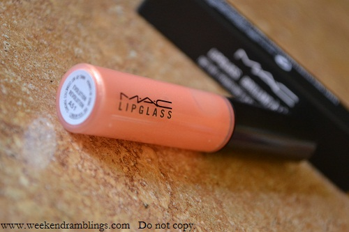 MAC Evolution Revolution Lipglass Bloggers Obsession Review Swatch