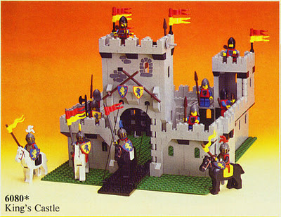 elaborate yet inflexible Lego castle
