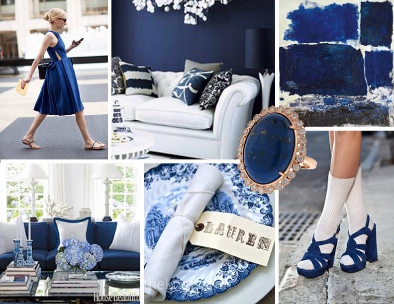 Little House Mood Board Pantones Sodalite Blue