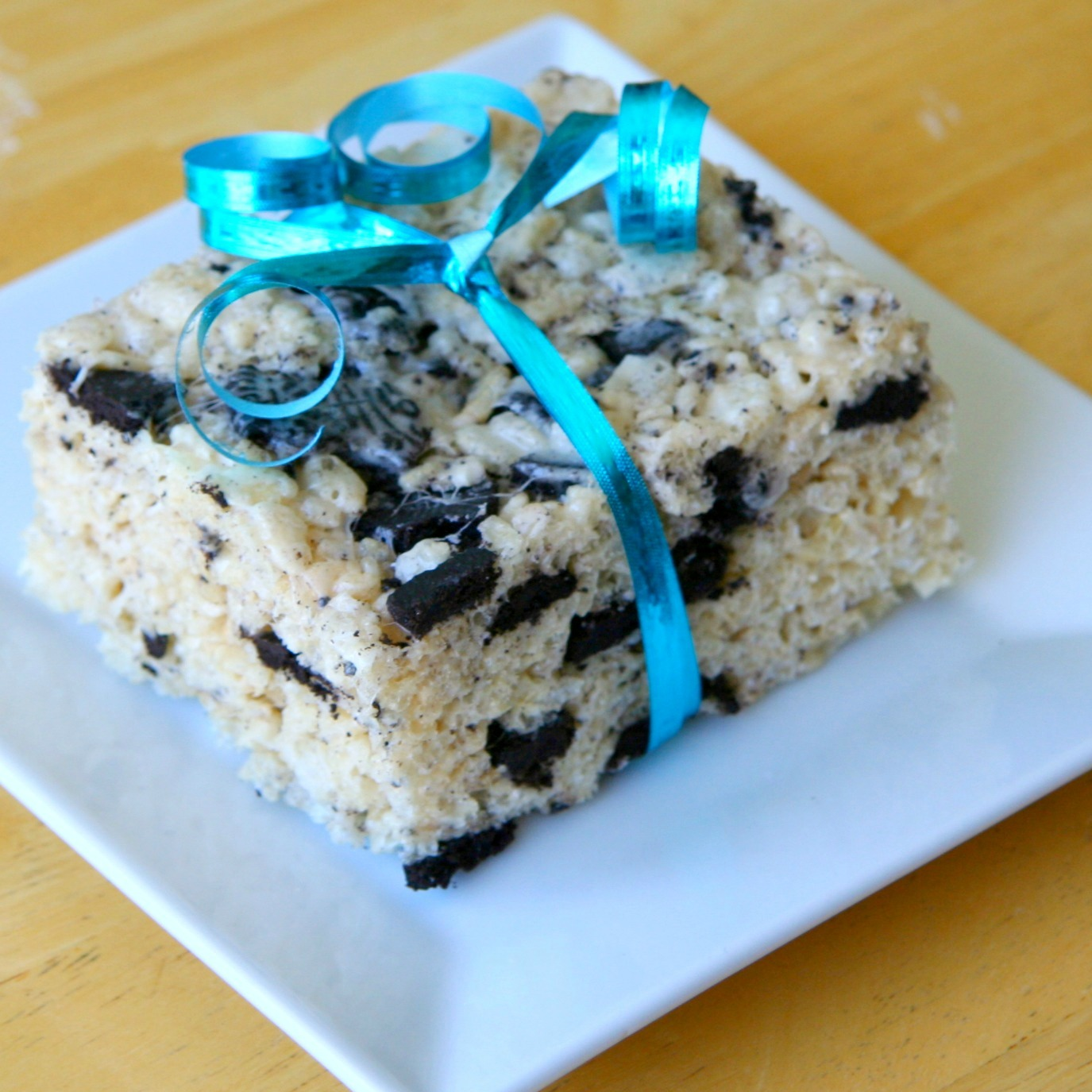 Kneady Sweetie: Cookies And Cream Rice Krispie Treats