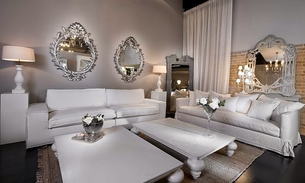 id es de d coration pour un salon luxueux d coration. Black Bedroom Furniture Sets. Home Design Ideas