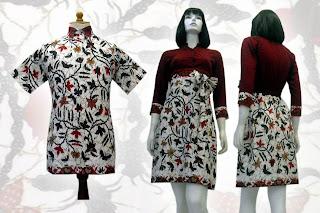 batik+terbaru BAJU BATIK wanita pria dan anak muda