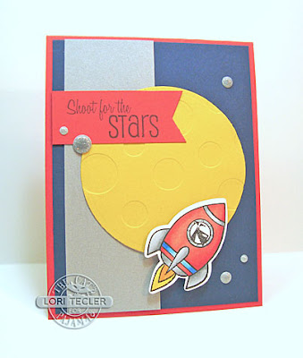 Shoot for the Stars card-designed by Lori Tecler/Inking Aloud-stamps from The Cat's Pajamas