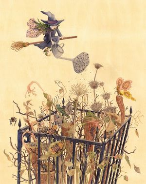 The Garden of the Little Witch