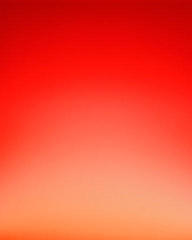 Orange ombre wallpaper