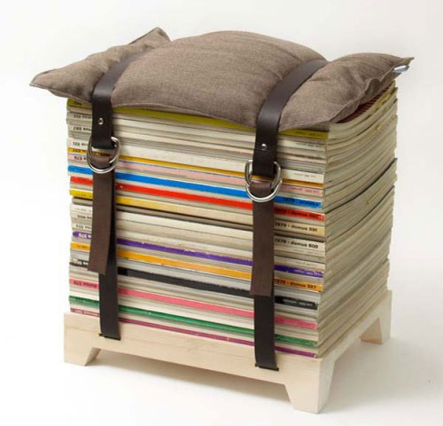 recycled paper furniture. the restructors recycled paper furniture