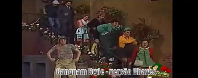 vídeo Gangnam Style - versão Chaves