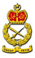 Malaysian Royal Land Army Crest