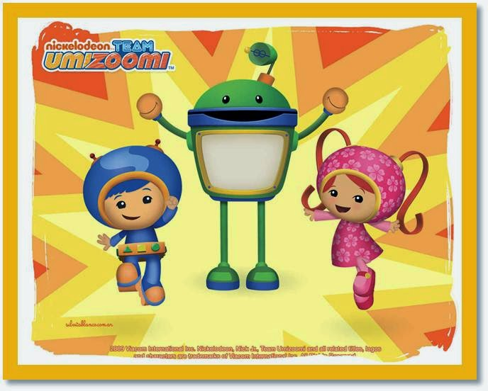Team Umizoomi: Free Printable Invitations, Labels or Cards.
