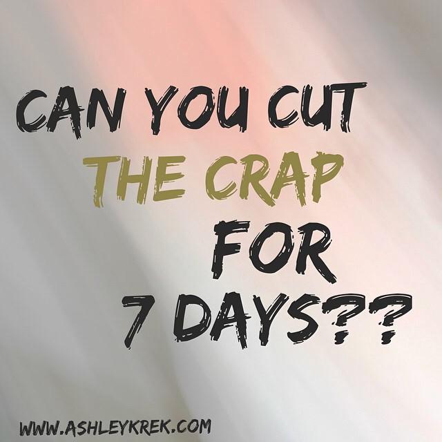 Ashley Krek: Cut the Crap this Summer