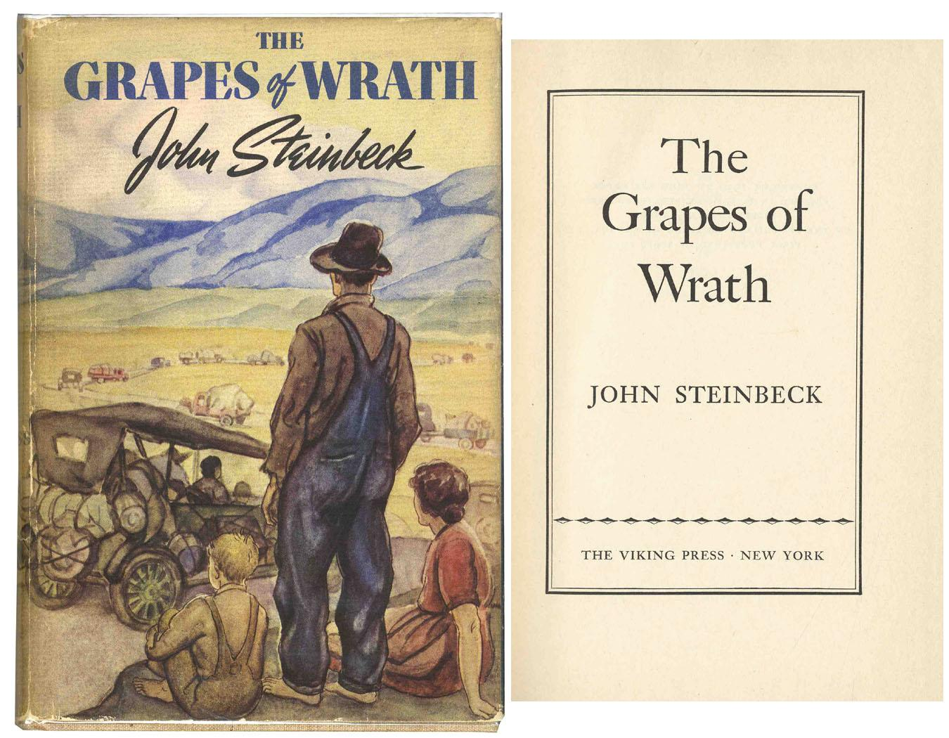 rhetorical analysis the grapes of wrath So, in the beginning of the grapes of wrath and the pearl, steinbeck employs an informative language that predicts the misfortune that an extreme materialistic behavior is going to cause for the joads in the grapes of wrath as well as for kino's family in the pearl.