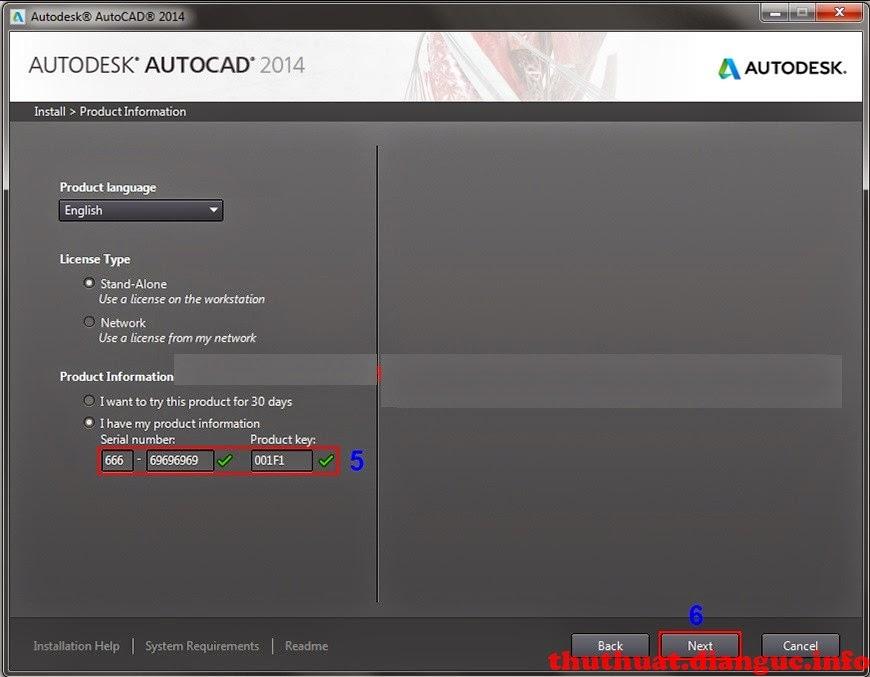 hướng dẫn cài autocad 2014