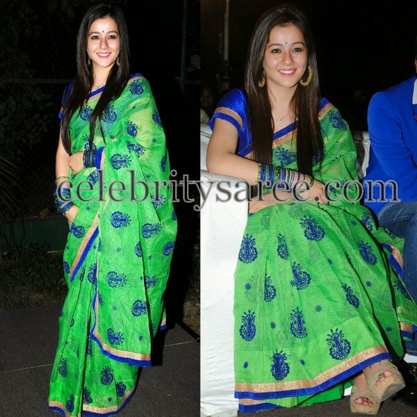 Priyal Gor in Designer Saree