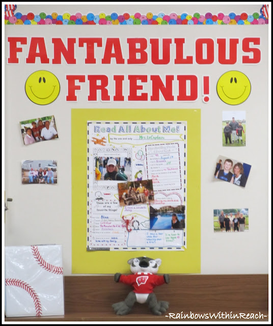 Fantabulous Friend Back to School Bulletin Board