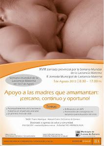 Semana Mundial Lactancia Materna Pcia Bs As