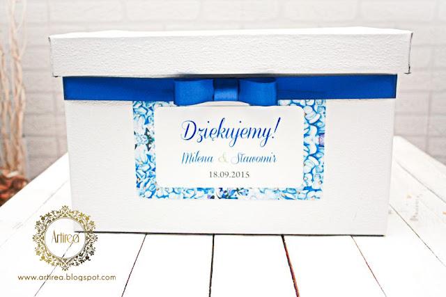 Pudełko na koperty Artirea