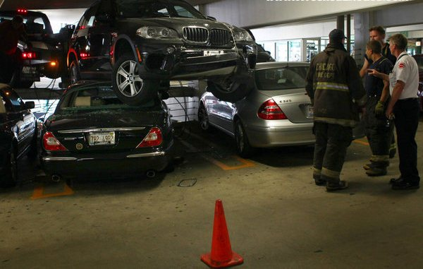 Car Accident Car Accident In Parking Garage
